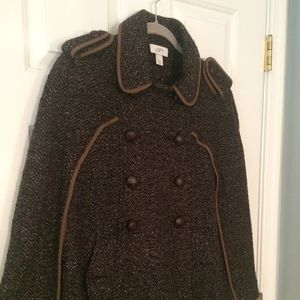 Ann Taylor LOFT Tweed Cape
